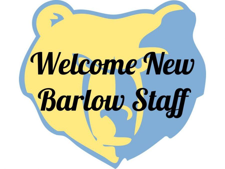 Barlow welcomes new staff