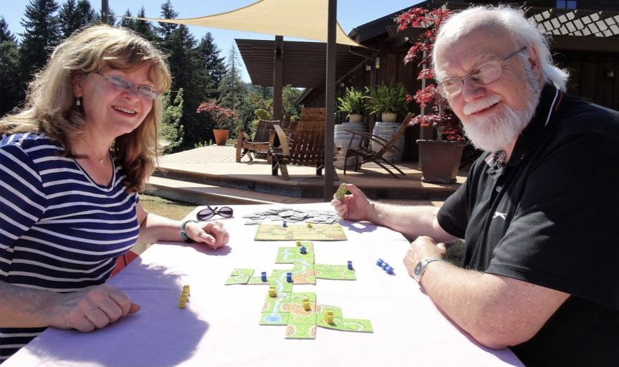 Mr. Brown and his wife are owners of Off the Chart Games.