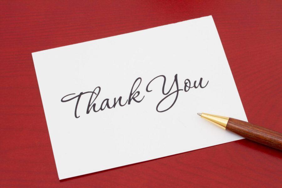 Seniors thank their teachers