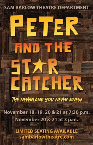 Come and see Peter and the Starcatcher in November at Barlow High!