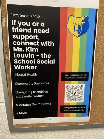 Check out the posters around the school!